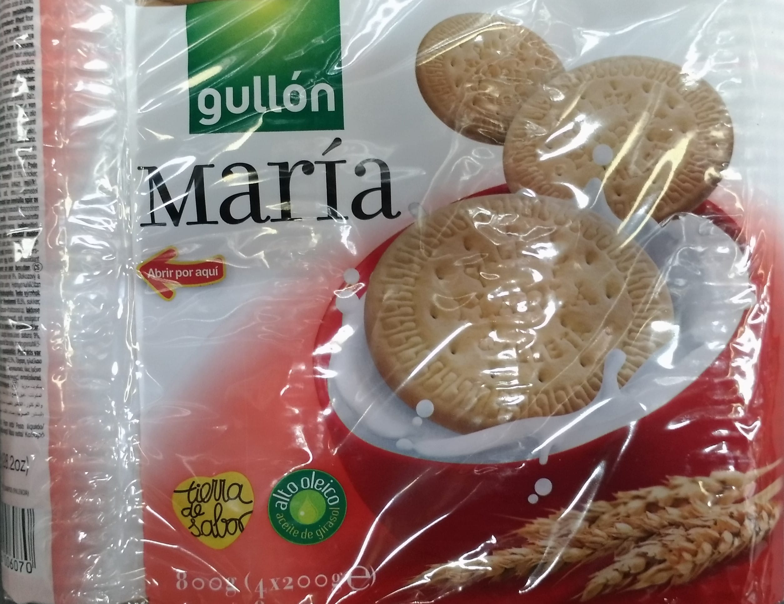 Galleta Gullon Maria 800g