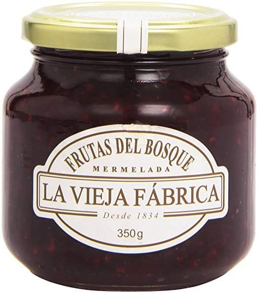 Mermelada la Vieja Fabrica Frutas del Bosque 350g