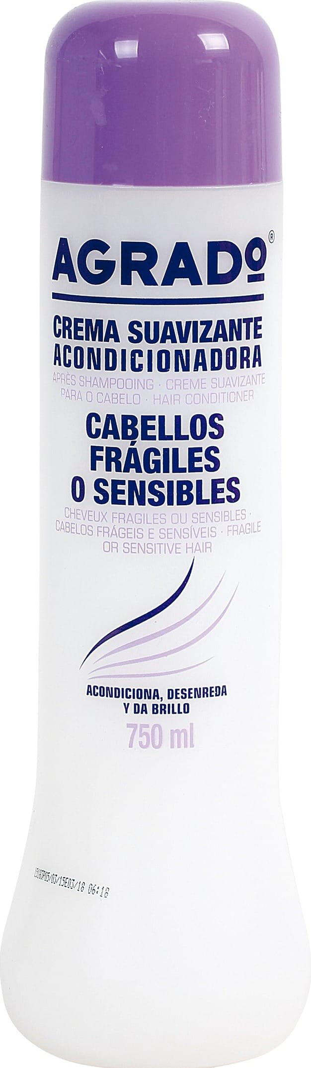 Acondicionador Agrado Fragiles o Sensibles 750ml
