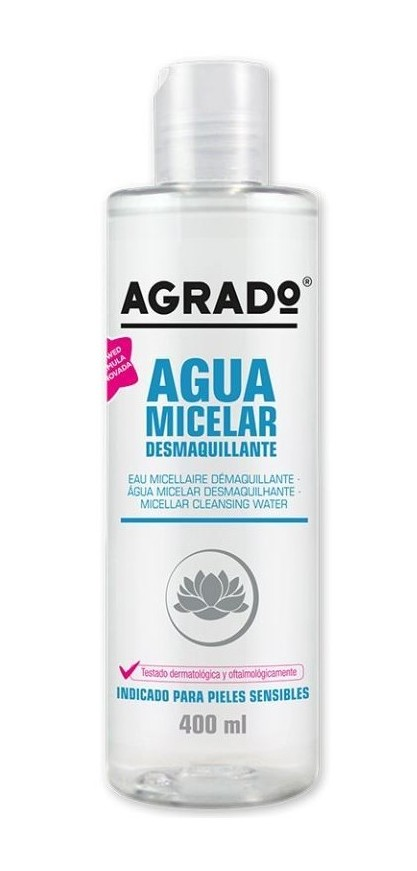 Agua Micelar Agrado Desmaquillante 400ml