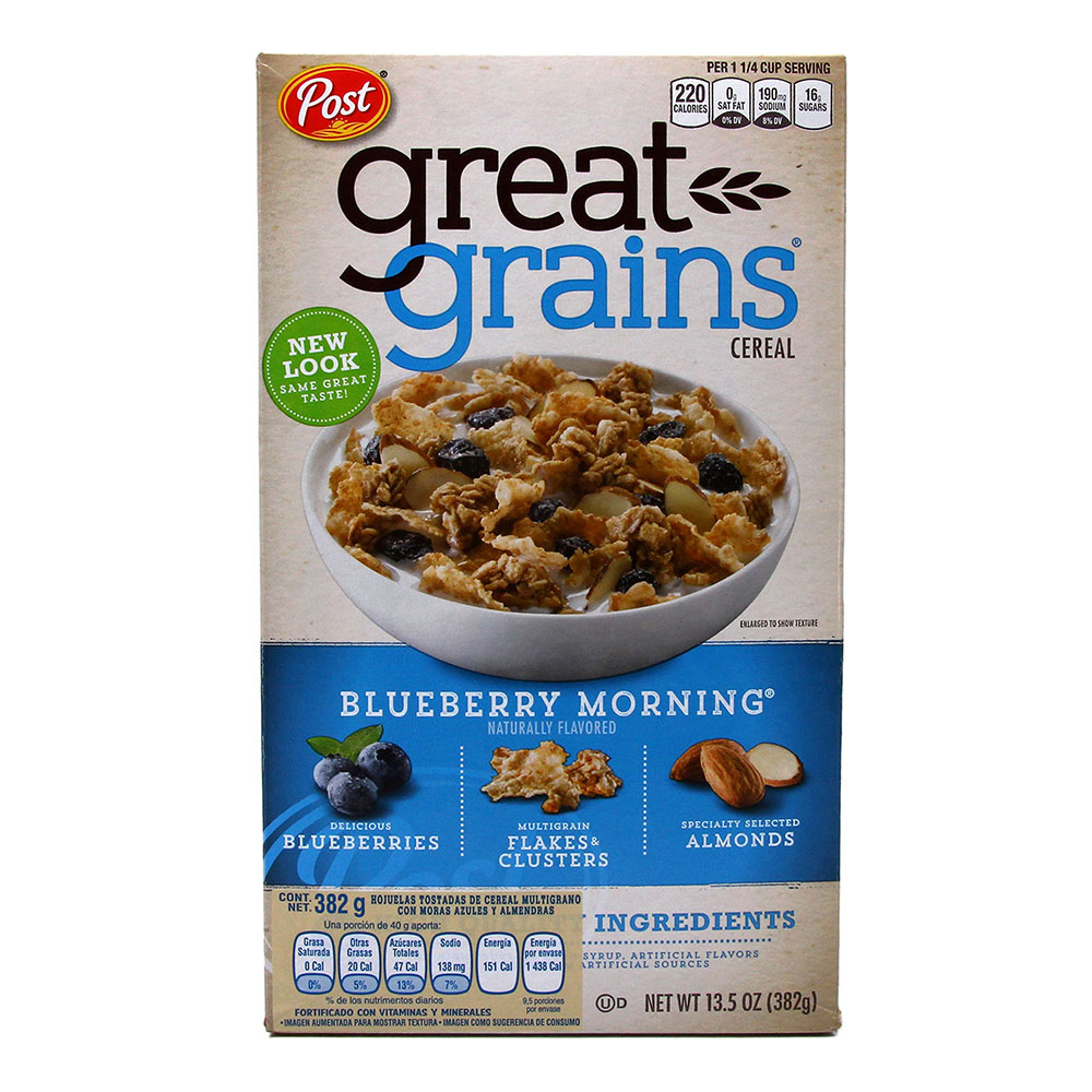 Cereal Greatgrains Blueberry 382g