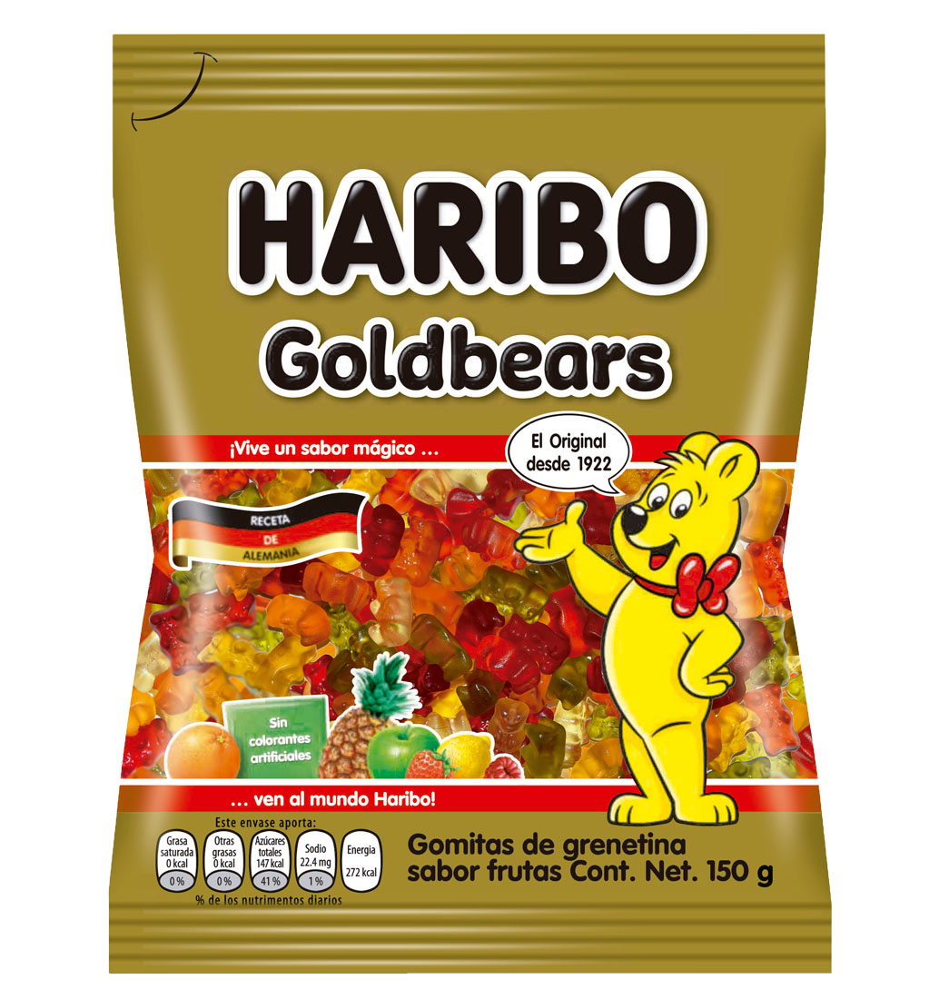 Gomas Haribo Goldbears 150g